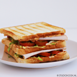 Cajun-kip sandwich