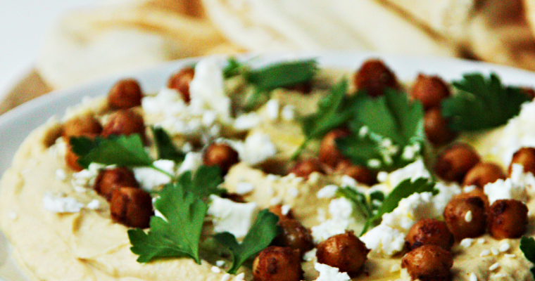 Hummus, basisrecept
