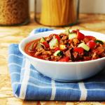 Basisrecept voor pastasaus met gehakt en groenten