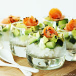 Sushi amuseglaasjes