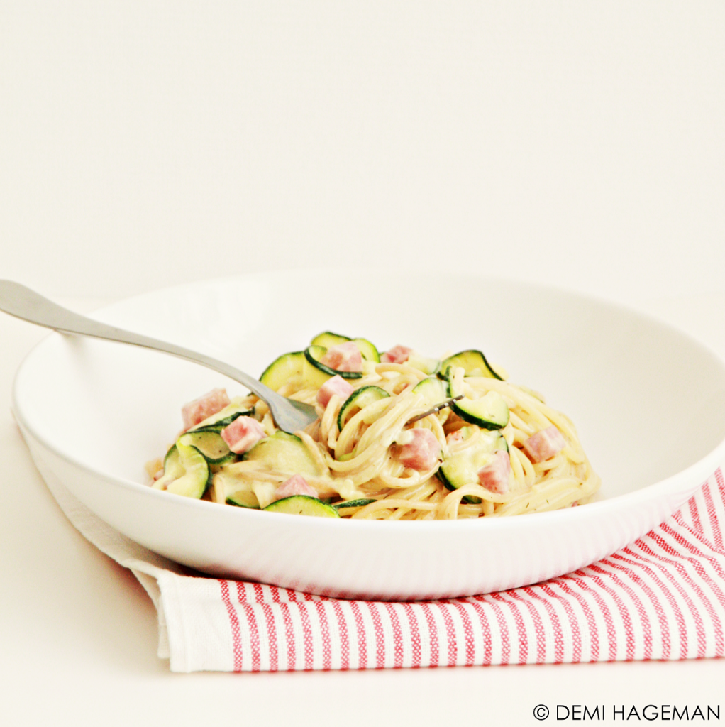 makkelijke pasta met roomsaus