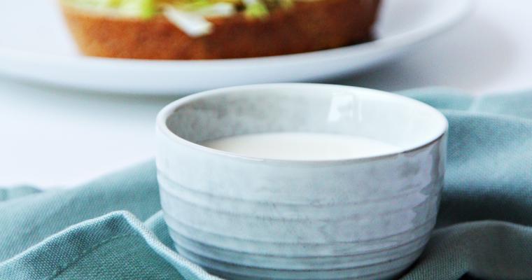 Basisrecept voor yoghurtdressing
