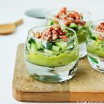 Oosterse garnalencocktail met avocado