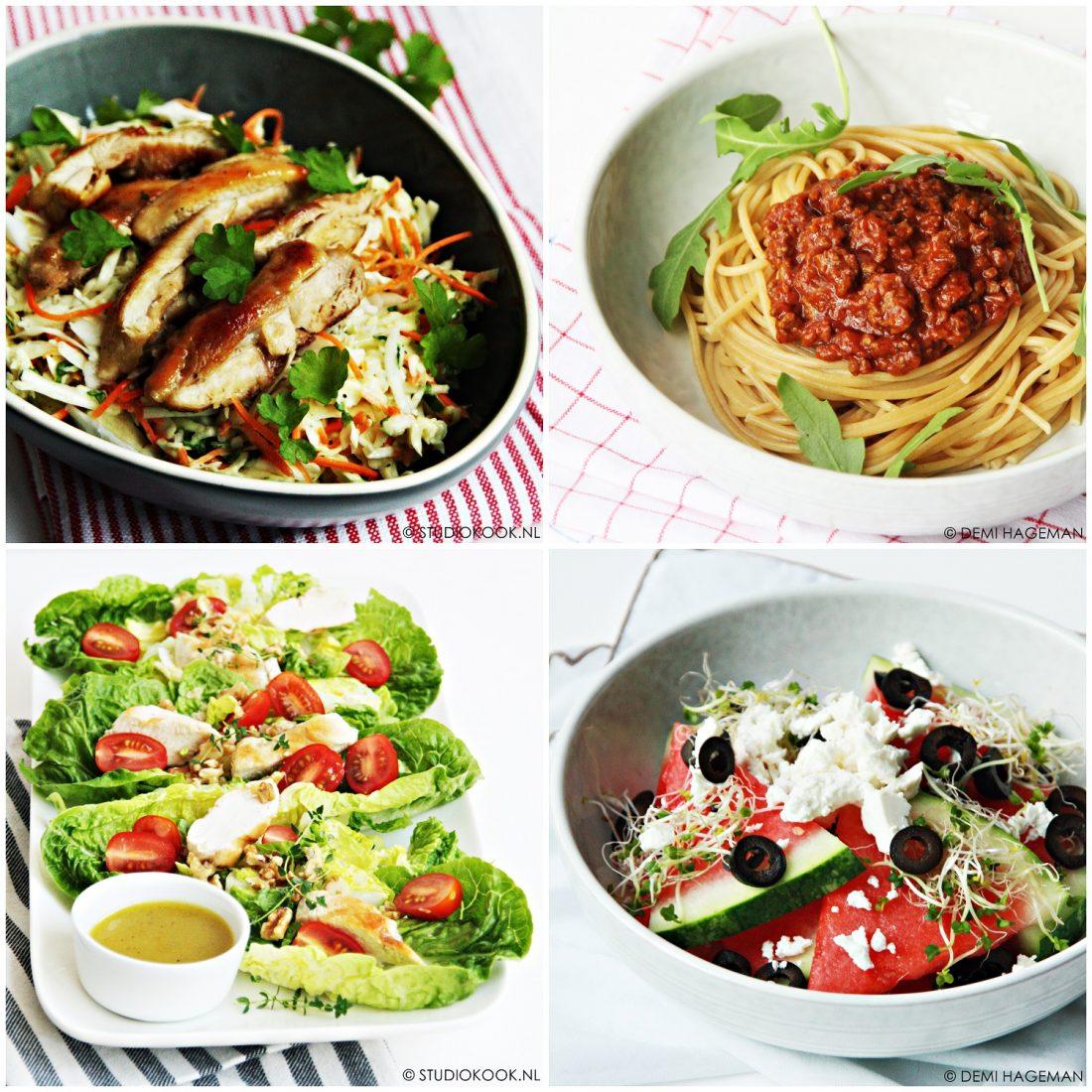 Snelle en simpele recepten voor het avondeten