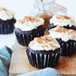 Choco-tiramisu cupcakes