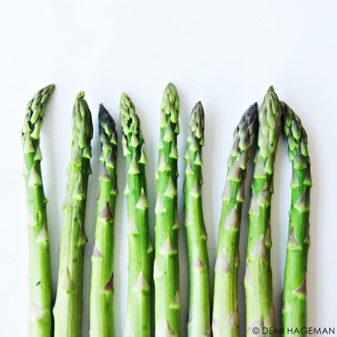 foodie favorieten groene asperges seizoensgroenten van april