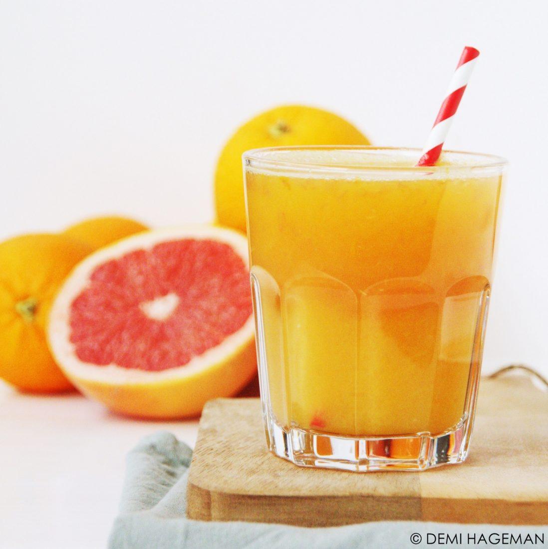 sinaasappel-grapefruitsap