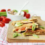 Tuna melt quesadilla's (snel & simpel)