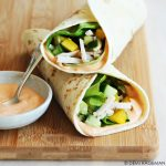 Wraps met kip en knapperige groenten