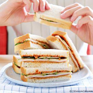 pindakaas sandwich