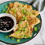 Bosui omelet met Chinese 5-spice en dipsaus