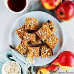Rooibos cake met appel, rozijnen en havercrunch